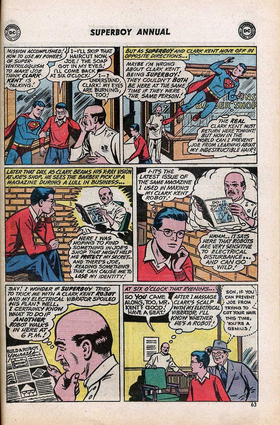 Superboy (1949) issue Annual 1 - Page 65