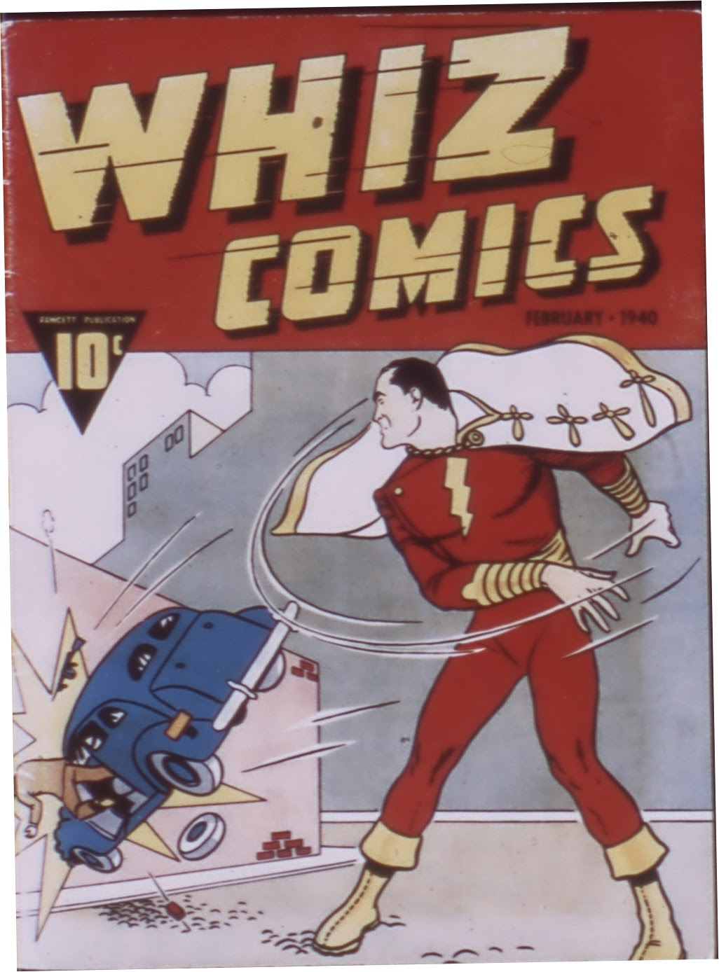 Read online WHIZ Comics comic -  Issue #1 - 1