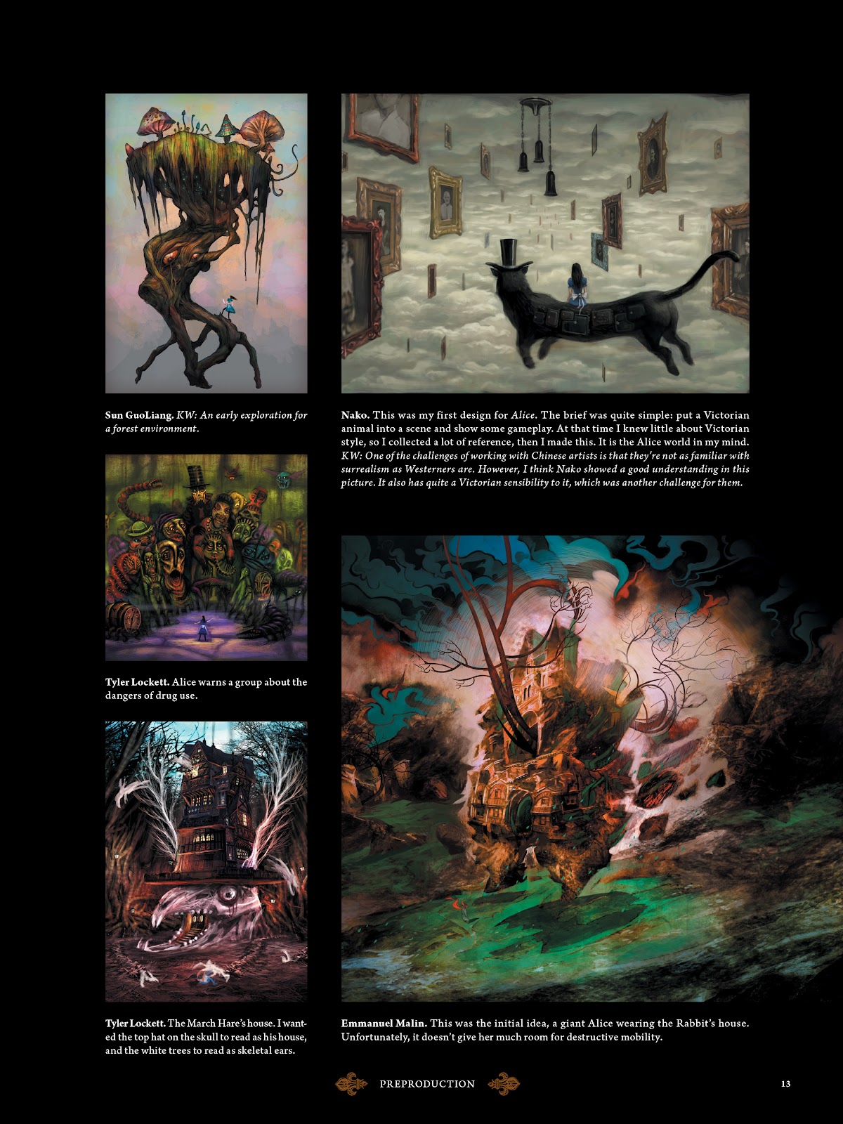 Read online The Art of Alice: Madness Returns comic -  Issue # TPB (Part 1) - 15