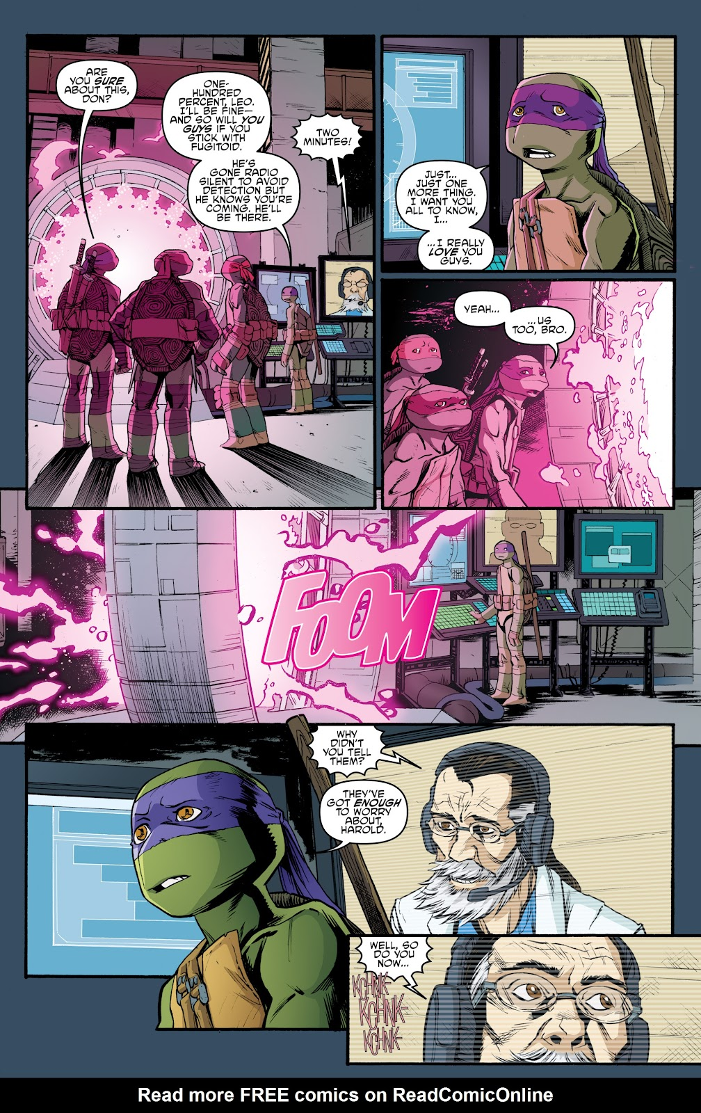 Read online Teenage Mutant Ninja Turtles: The IDW Collection comic -  Issue # TPB 5 (Part 3) - 96