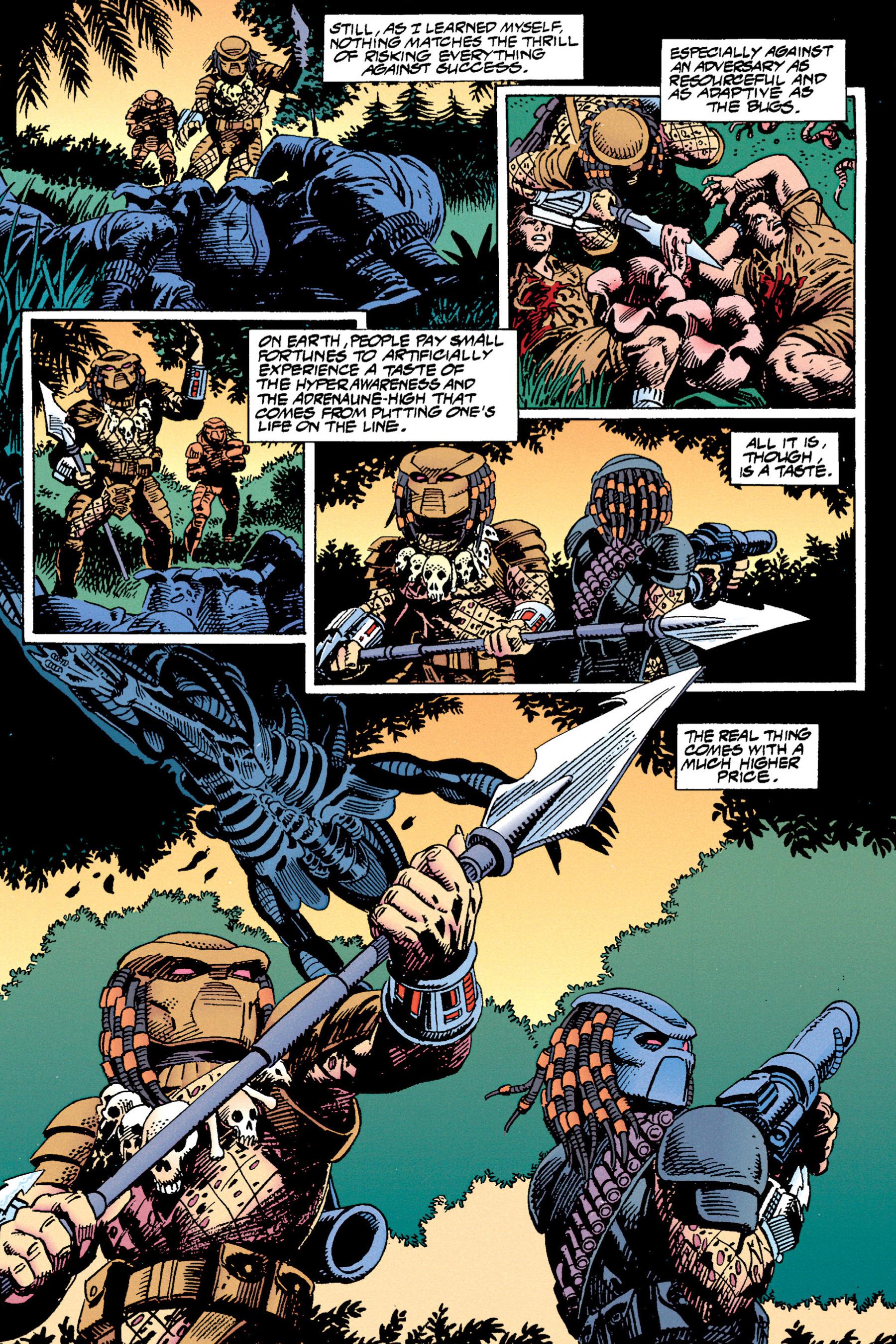 Read online Aliens vs. Predator Omnibus comic -  Issue # _TPB 1 Part 3 - 74