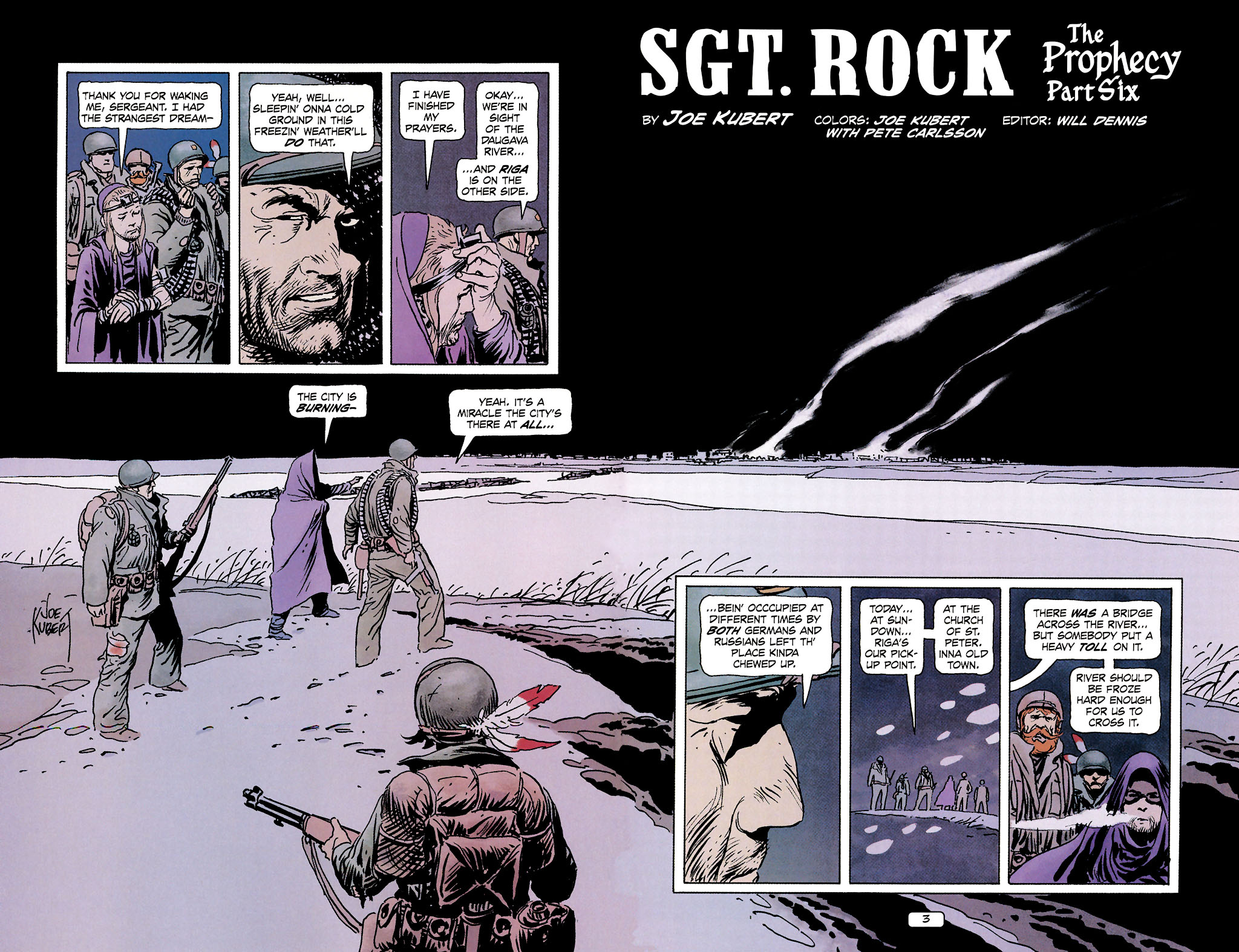 Read online Sgt. Rock: The Prophecy comic -  Issue #6 - 3