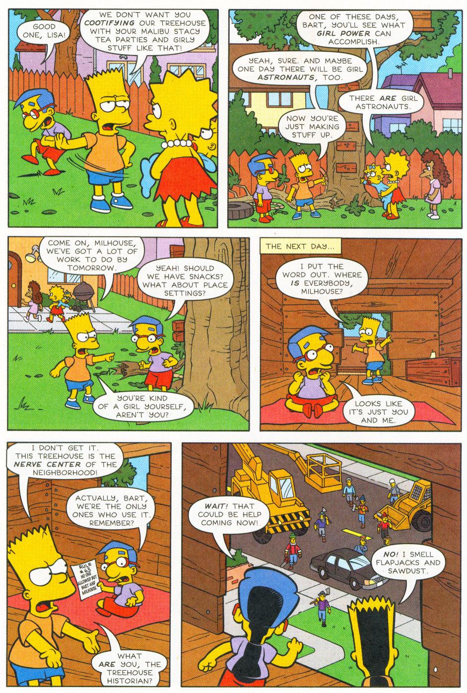 Read online Simpsons Comics Presents Bart Simpson comic -  Issue #26 - 5