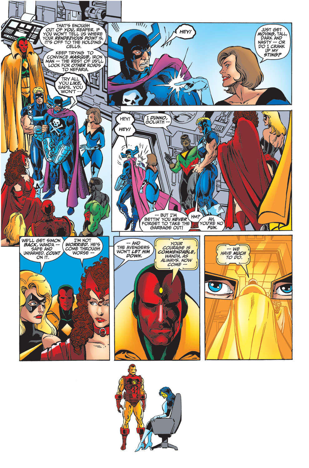 Read online Avengers (1998) comic -  Issue #33 - 17