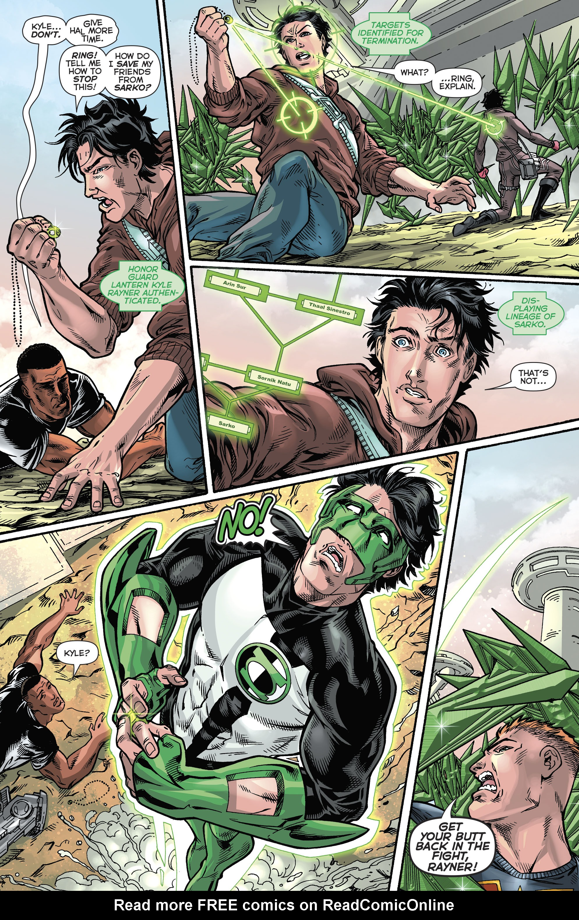 Read online Hal Jordan And The Green Lantern Corps comic -  Issue #21 - 15