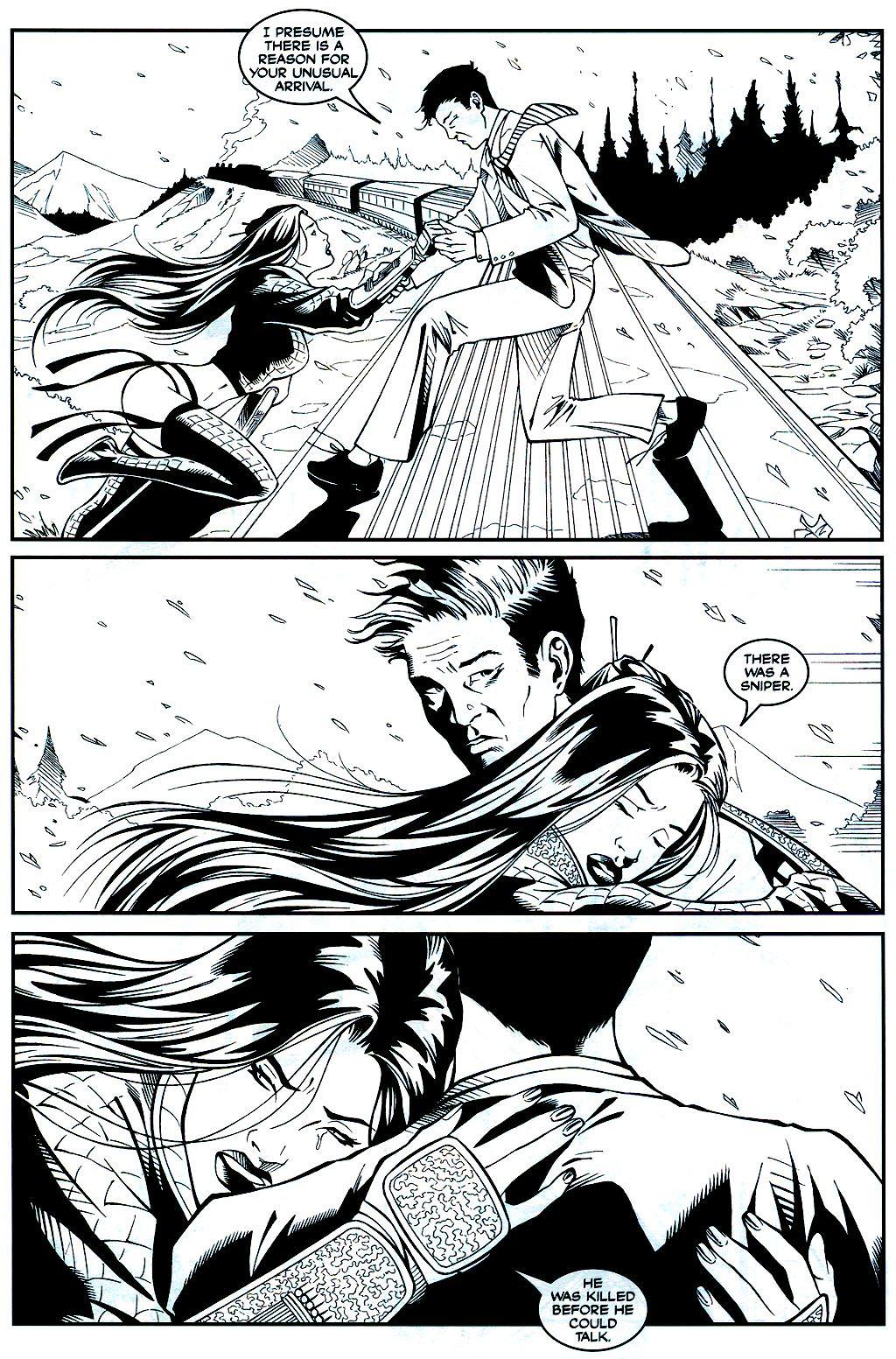 Read online Shi: Sempo comic -  Issue #1 - 17