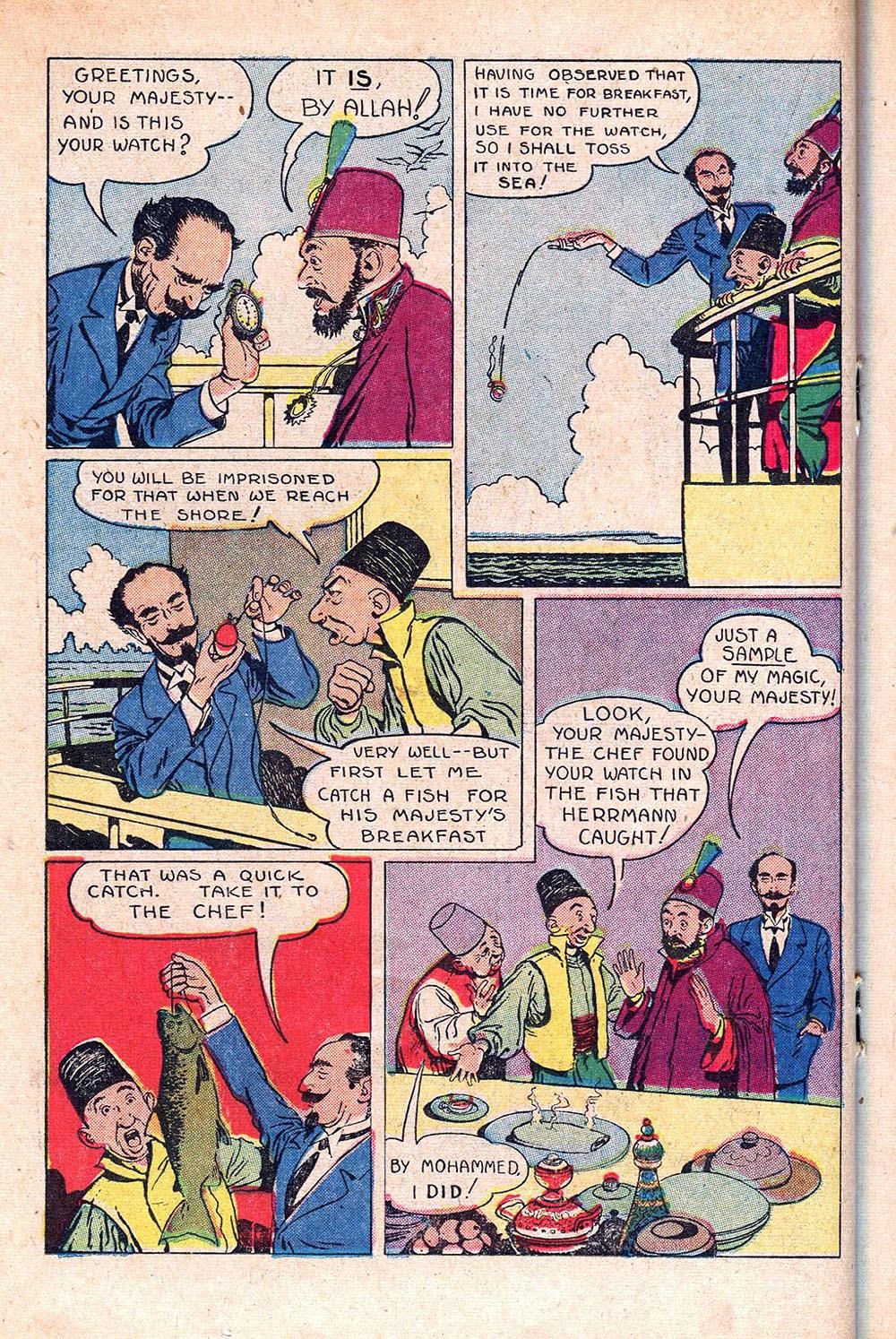 Read online Super-Magician Comics comic -  Issue #55 - 26