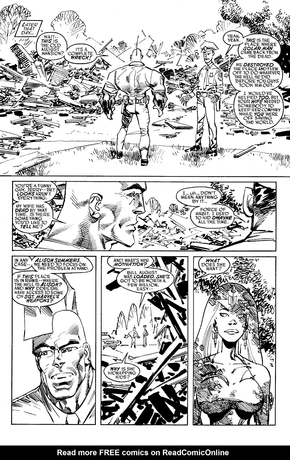 Read online Savage Dragon Archives comic -  Issue # TPB 6 (Part 5) - 71