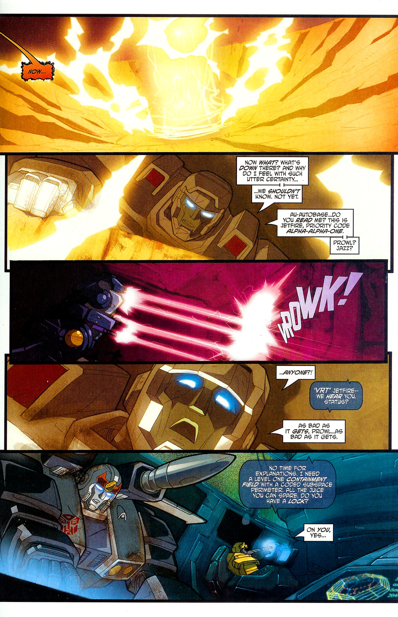 "Read online Transformers War Within: ""The Dark Ages"" comic -  Issue #6 - 17"