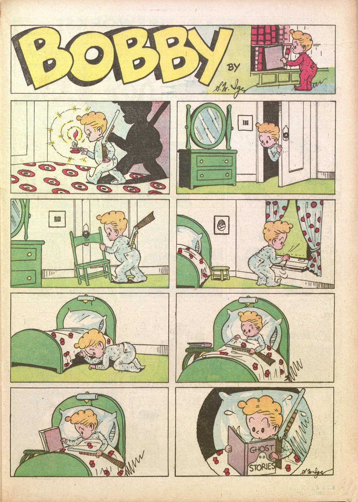 Read online Famous Funnies comic -  Issue #35 - 43