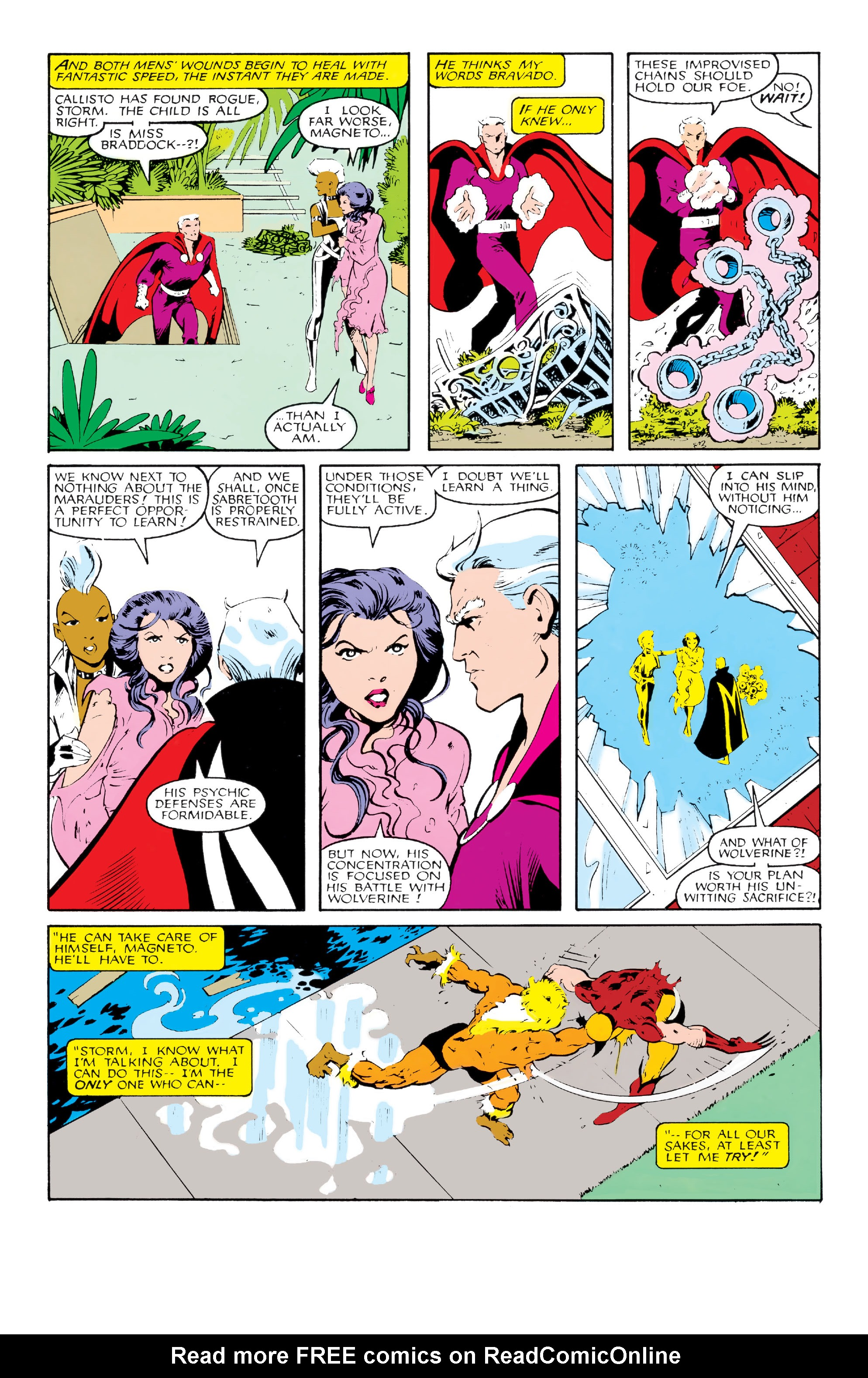Read online Uncanny X-Men (1963) comic -  Issue #213 - 19