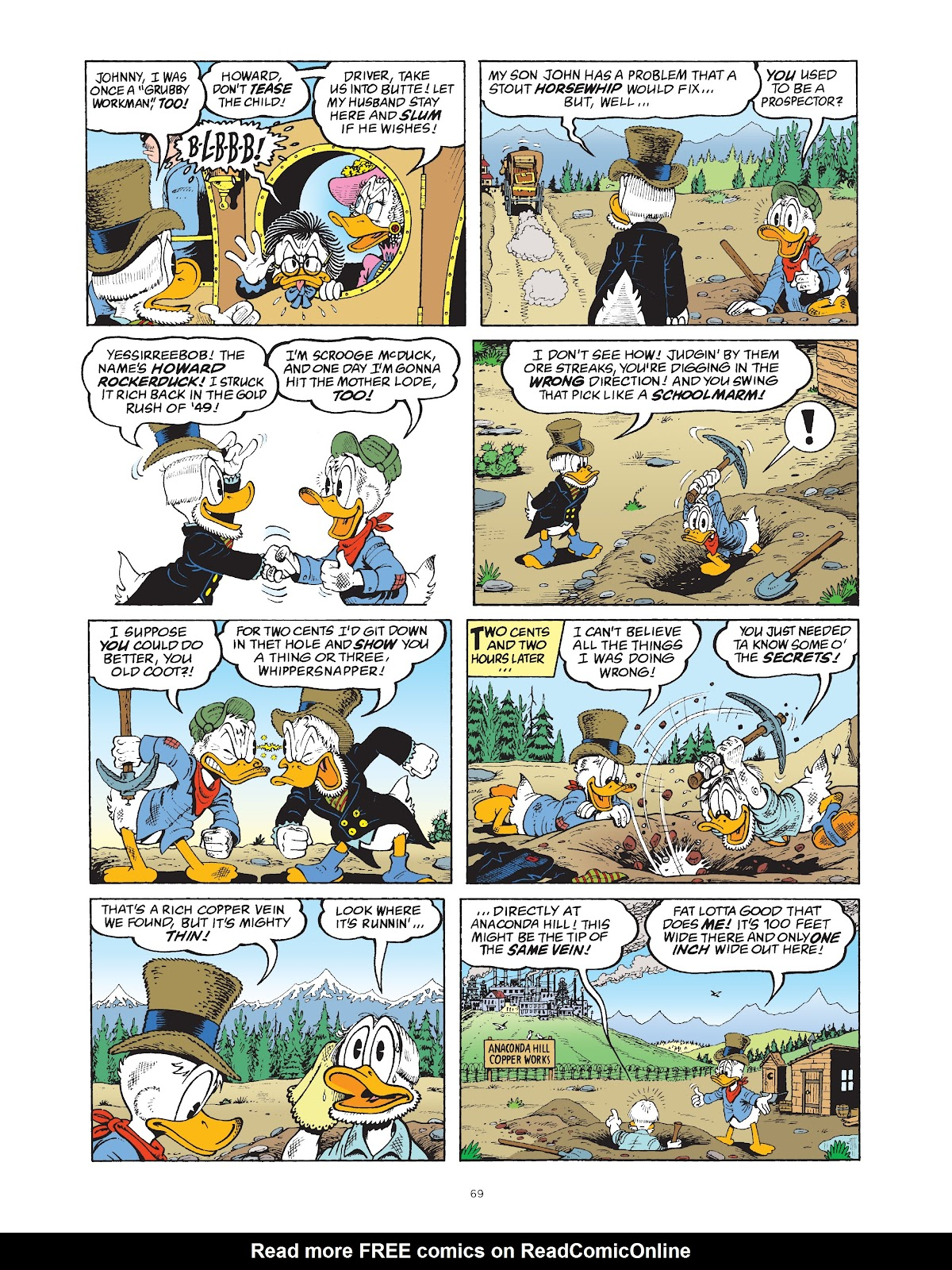 Read online The Complete Life and Times of Scrooge McDuck comic -  Issue # TPB 1 (Part 1) - 73