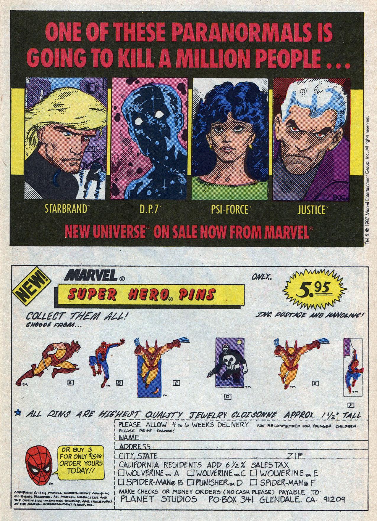 Read online Alpha Flight (1983) comic -  Issue #56 - 21