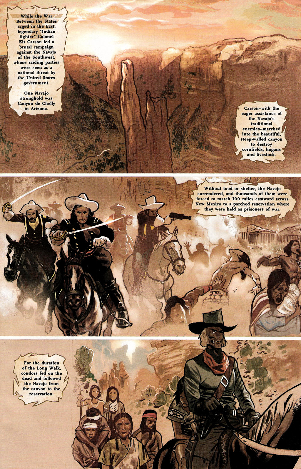 Read online Uncle Sam and the Freedom Fighters (2006) comic -  Issue #3 - 4