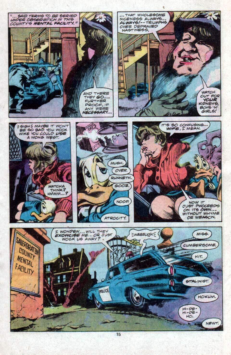 Howard the Duck (1976) Issue #12 #13 - English 10