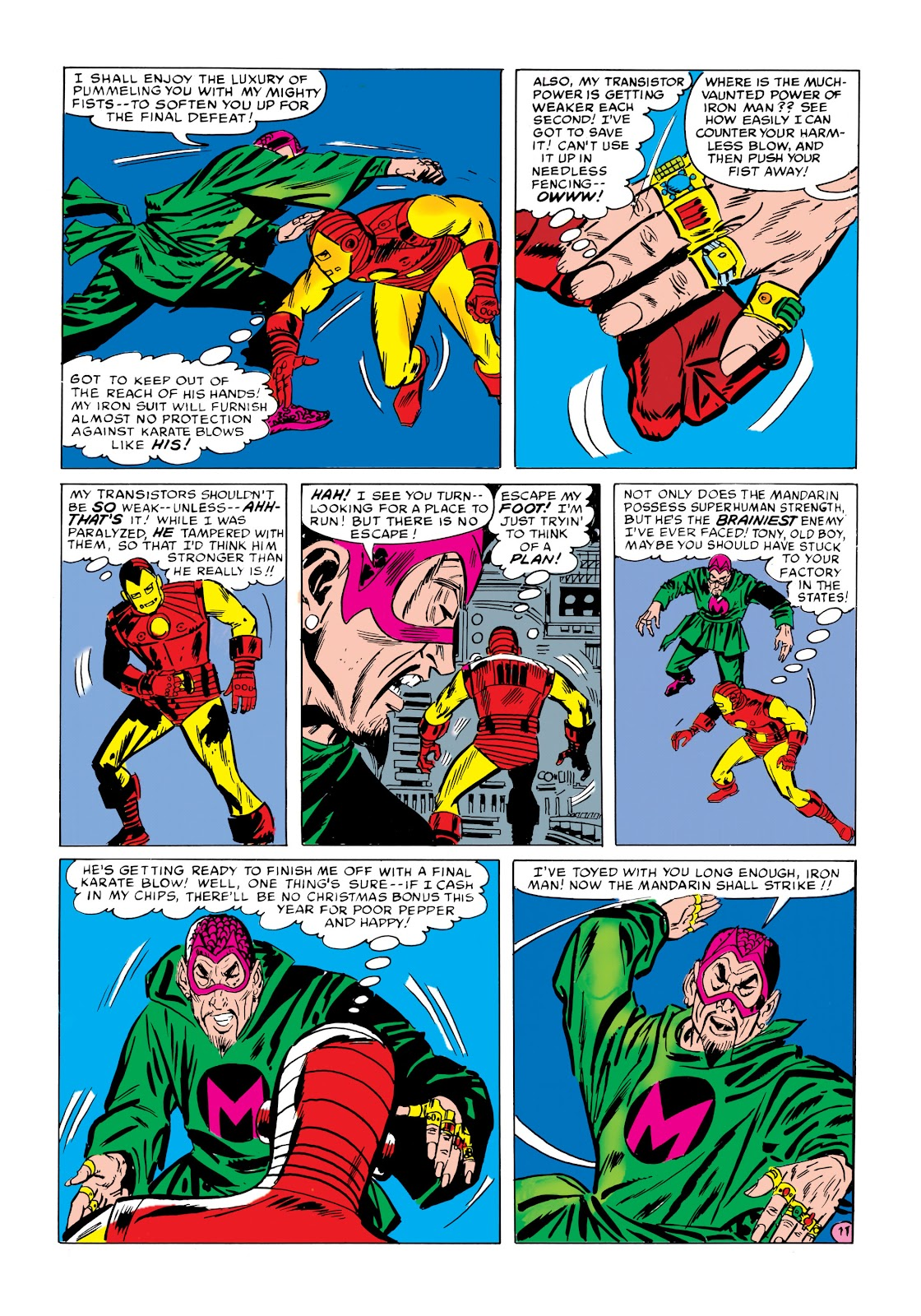 Read online Marvel Masterworks: The Invincible Iron Man comic -  Issue # TPB 1 (Part 2) - 88