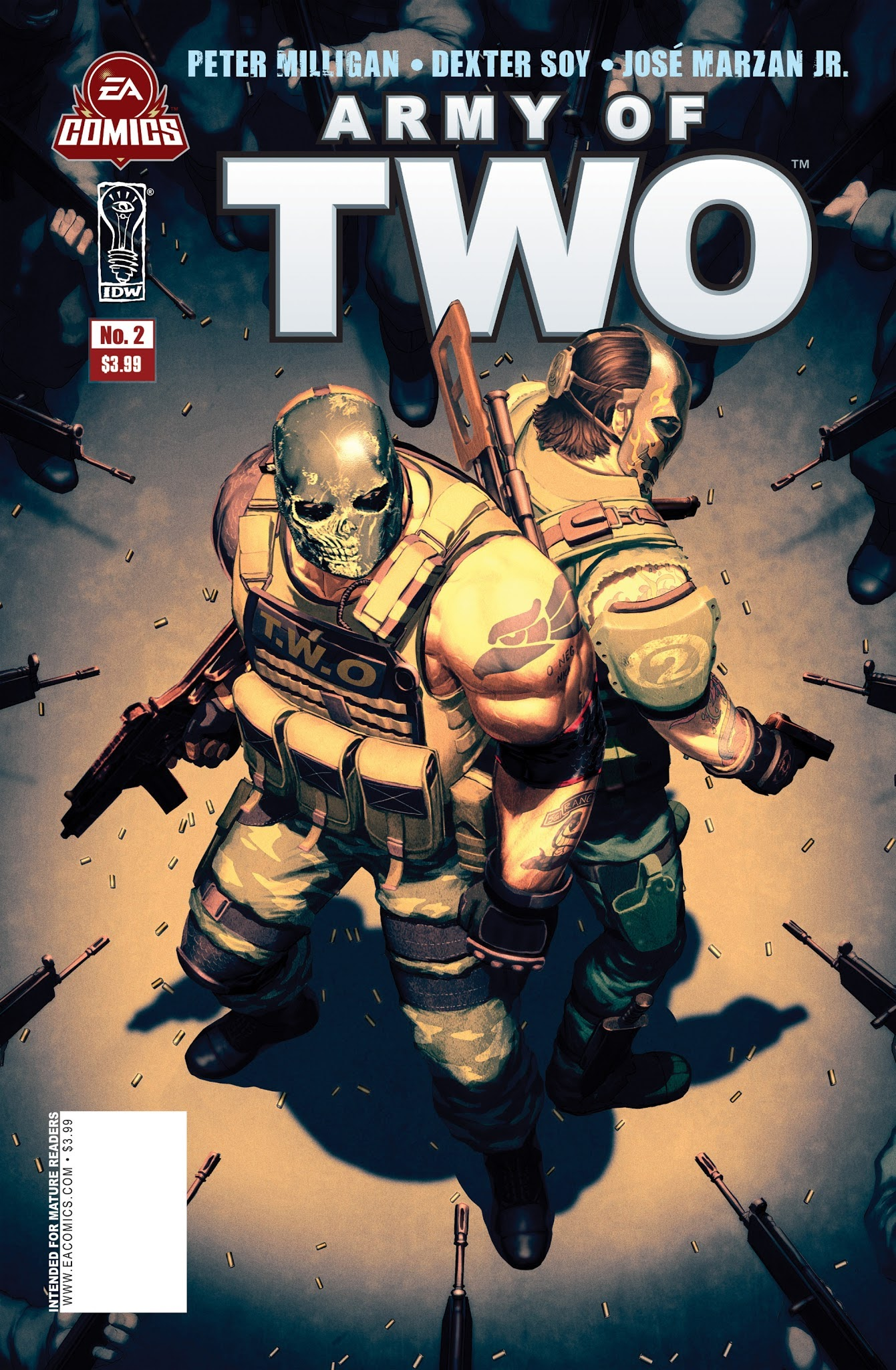 Army of Two 2 Page 1