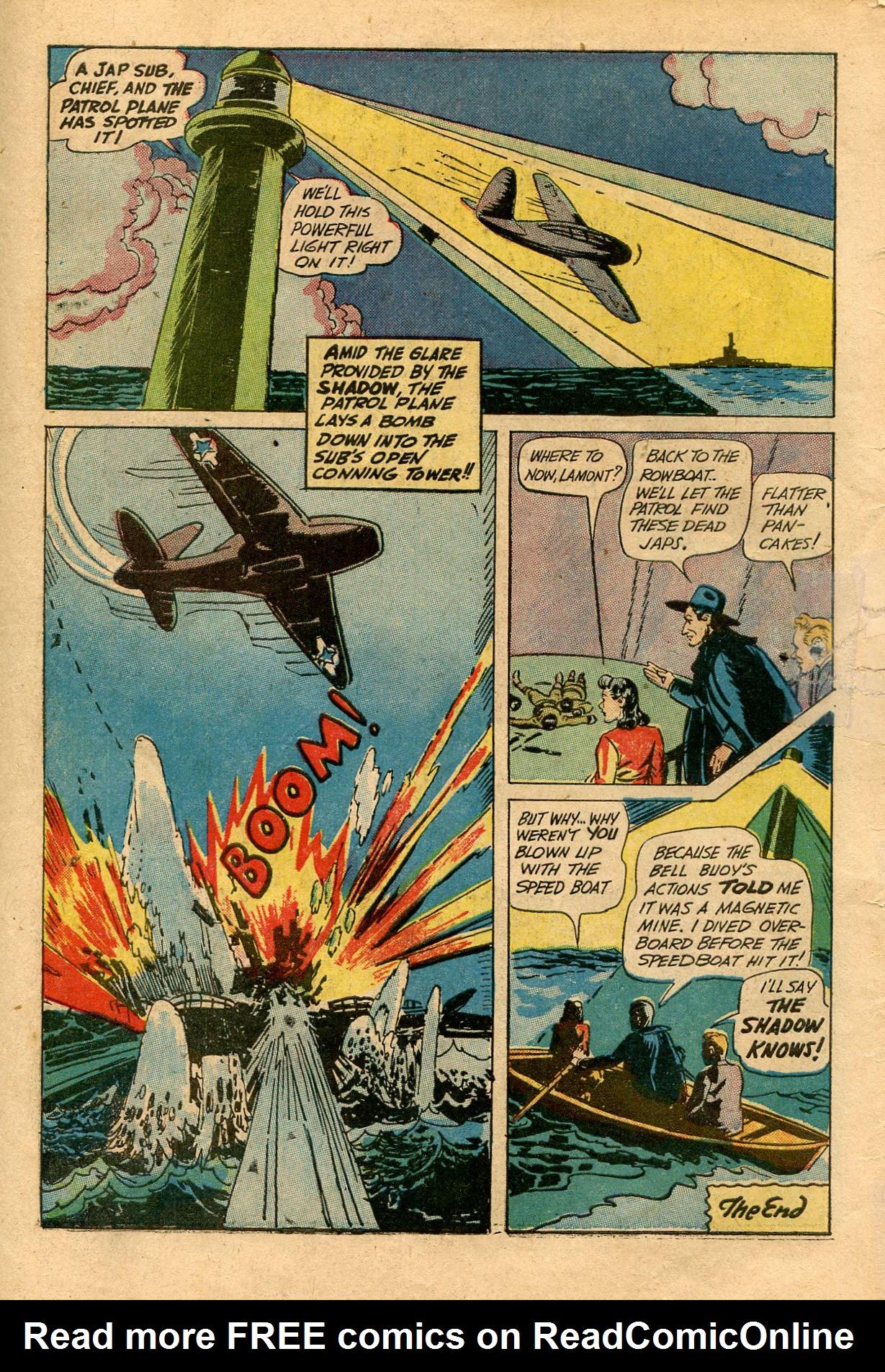 Read online Shadow Comics comic -  Issue #33 - 58