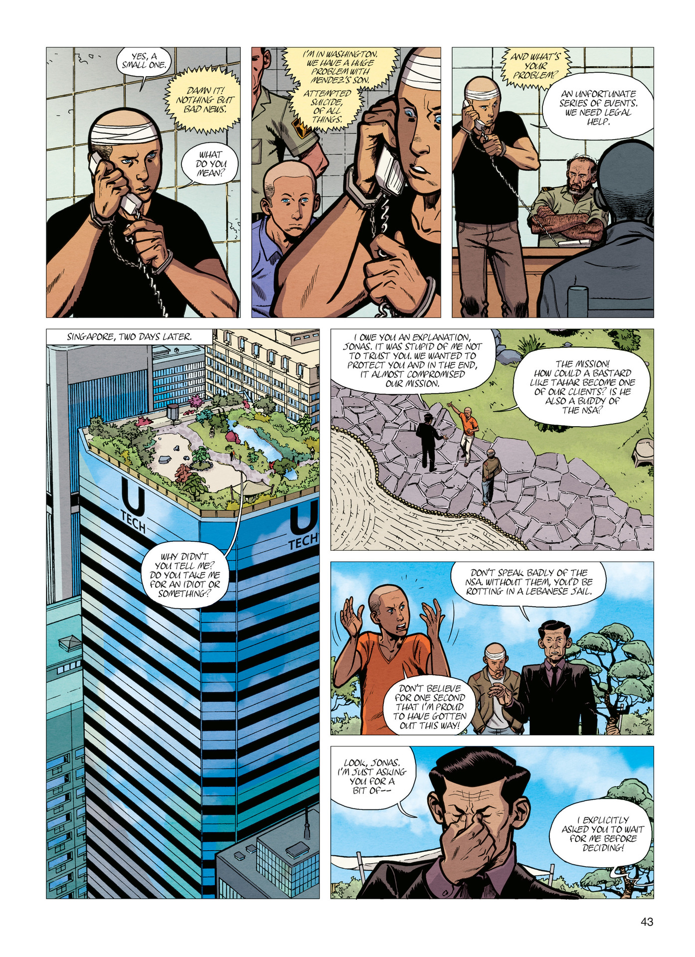 Read online Alter Ego comic -  Issue #4 - 45