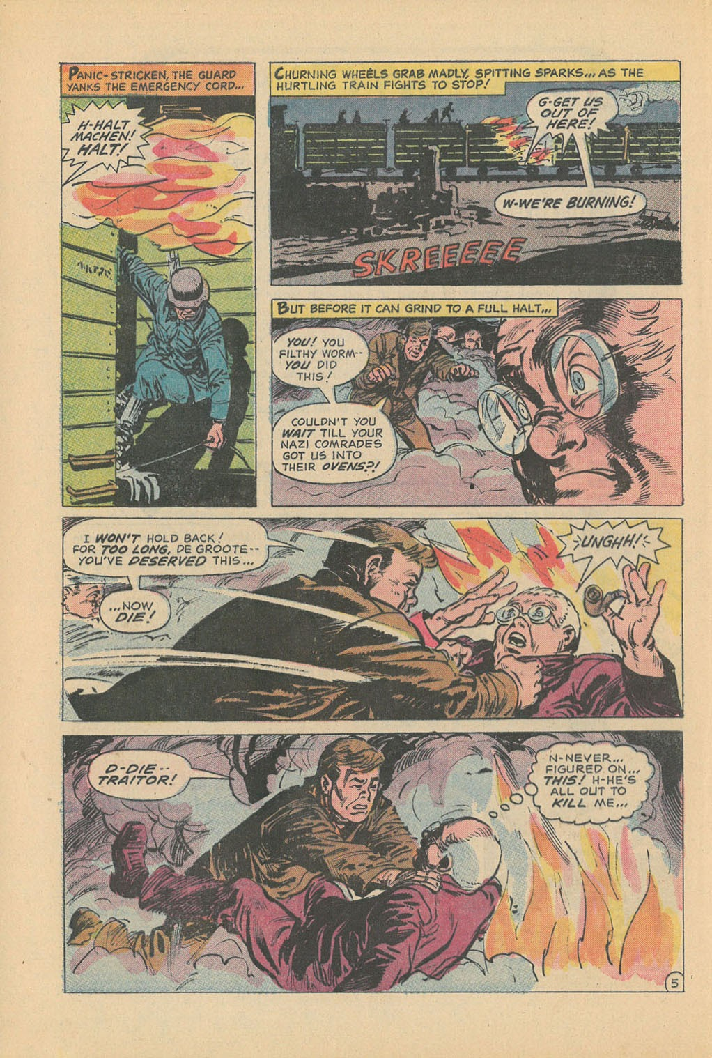 Read online Star Spangled War Stories (1952) comic -  Issue #177 - 8