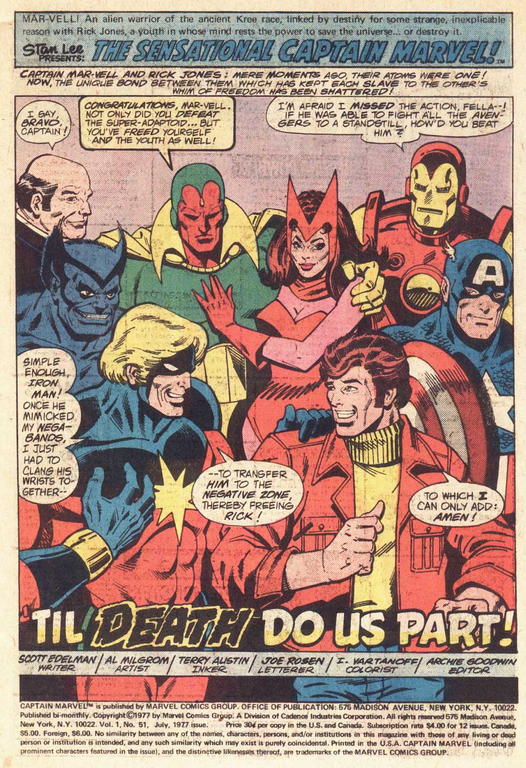 Captain Marvel (1968) issue 51 - Page 2