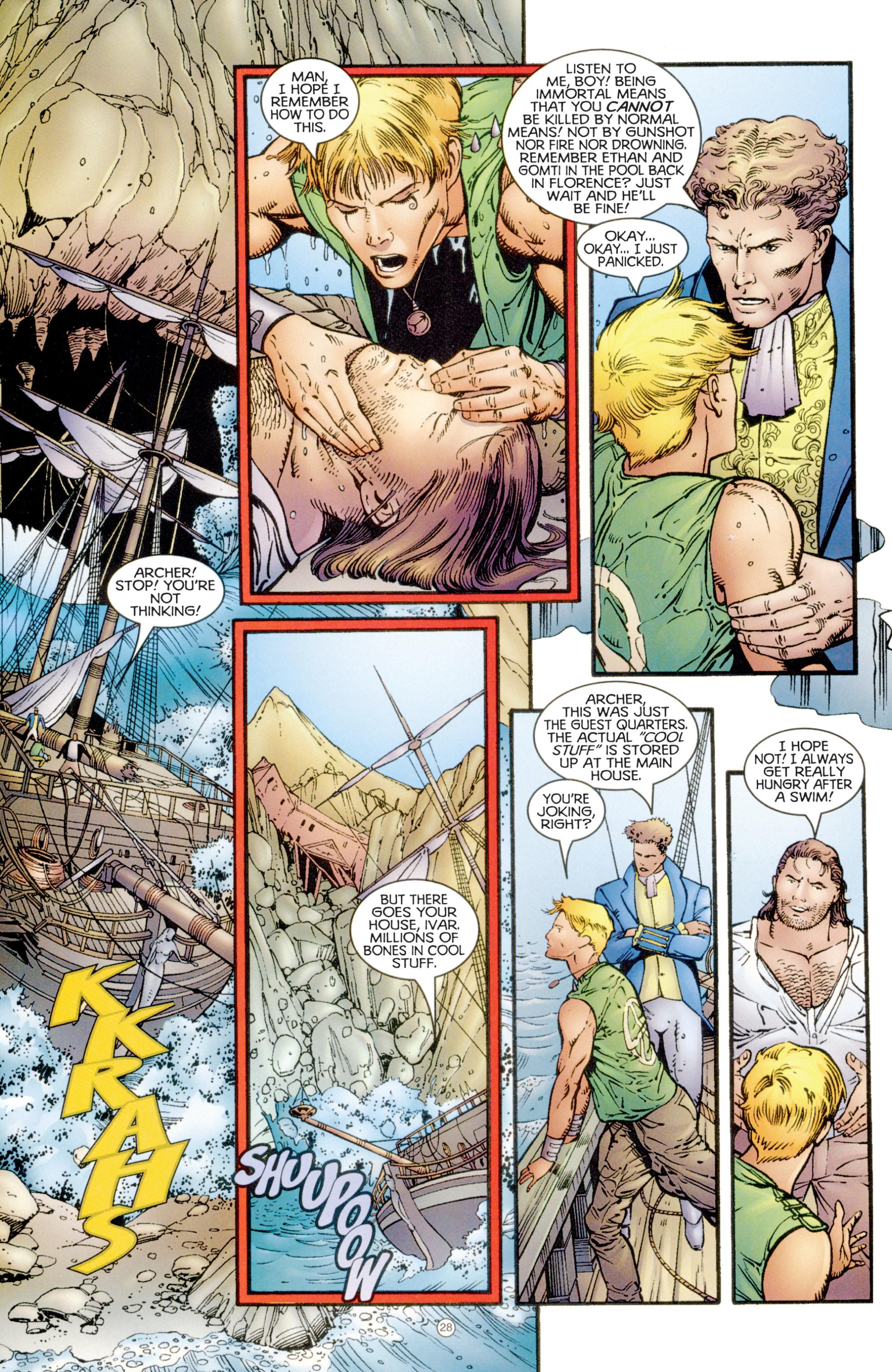 Read online Eternal Warriors comic -  Issue # Issue Digital Alchemy - 26
