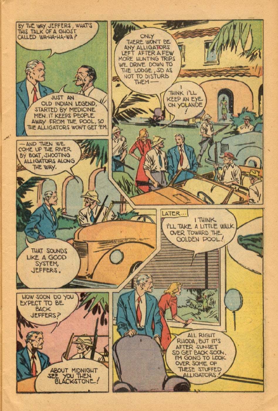 Read online Super-Magician Comics comic -  Issue #45 - 9