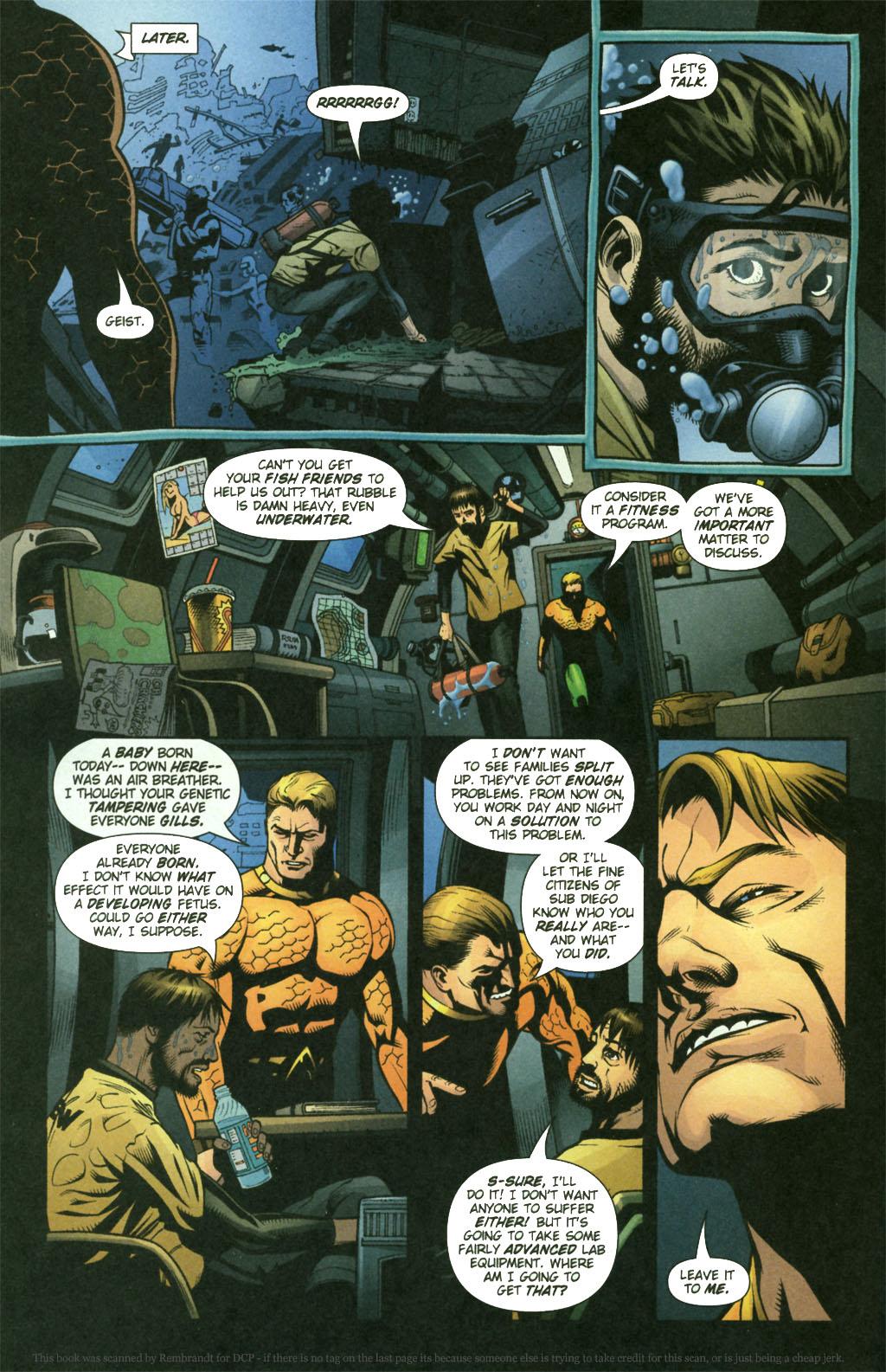 Read online Aquaman (2003) comic -  Issue #21 - 8