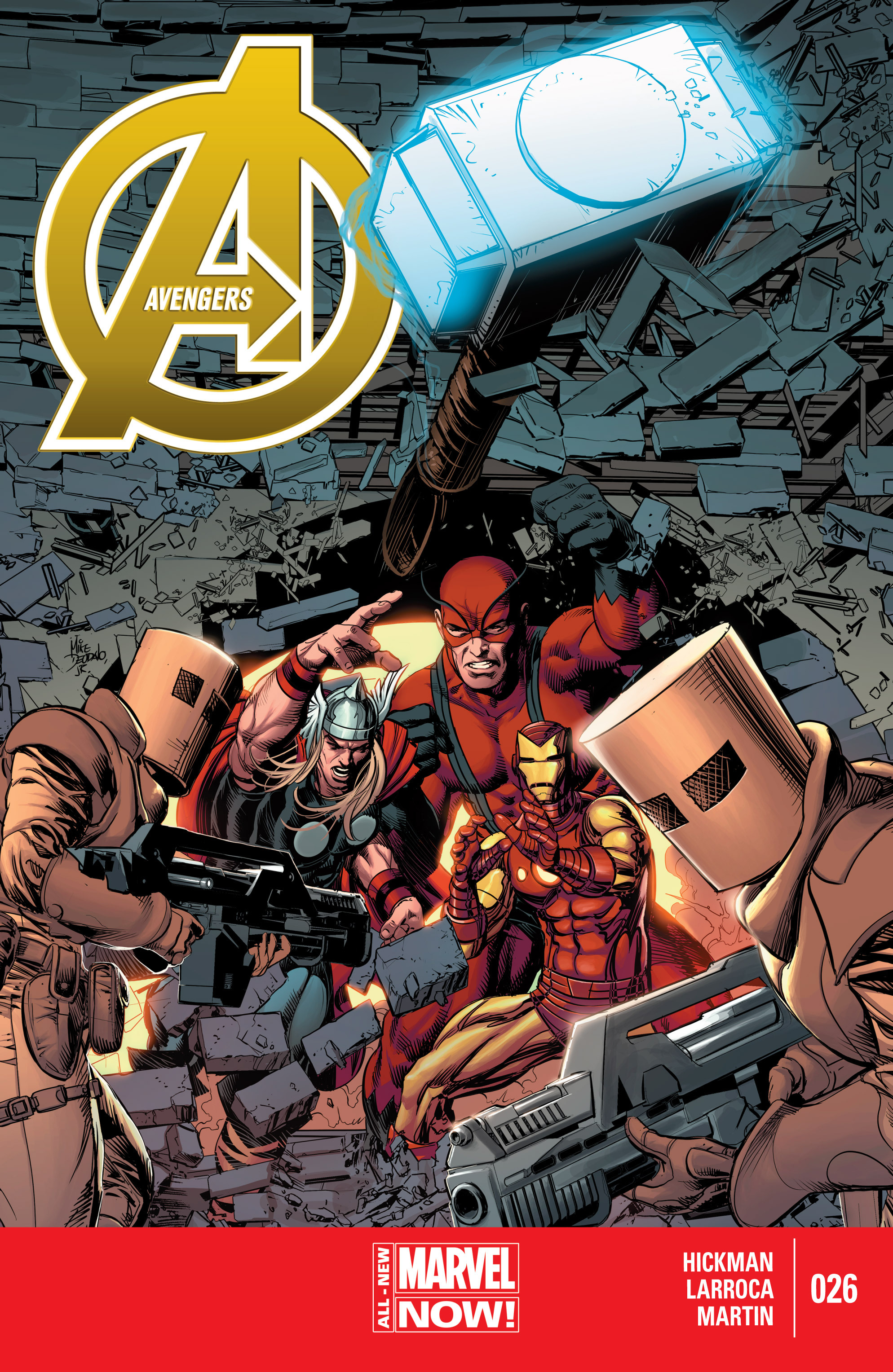 Read online Avengers (2013) comic -  Issue #26 - 1