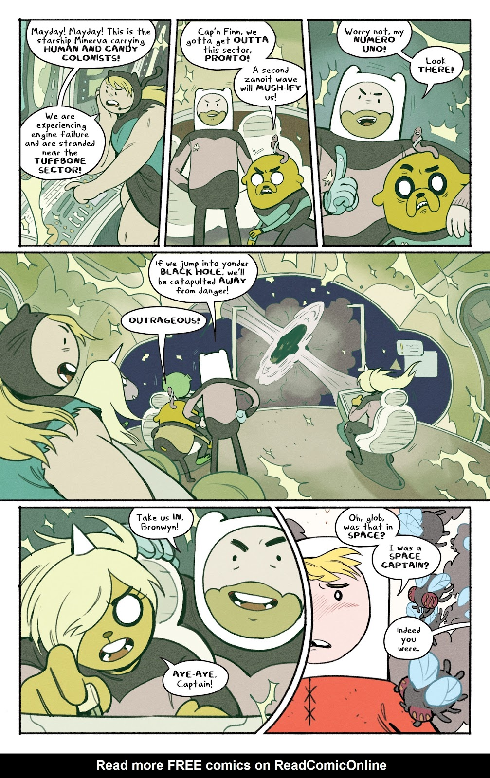 Read online Adventure Time: Beginning of the End comic -  Issue # _TPB - 63