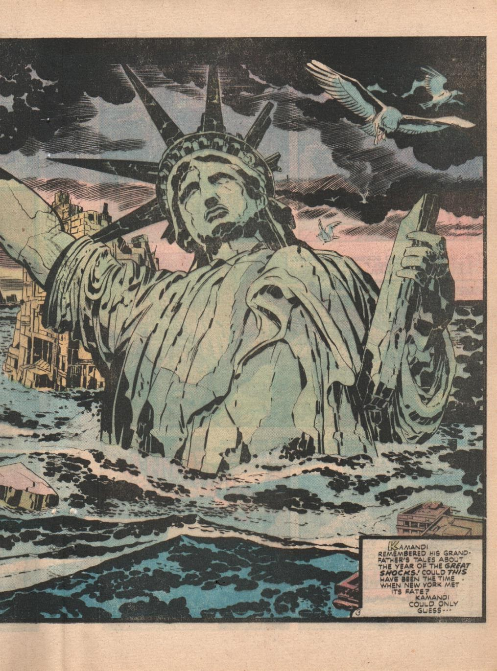 Kamandi, The Last Boy On Earth issue 32 - Page 32