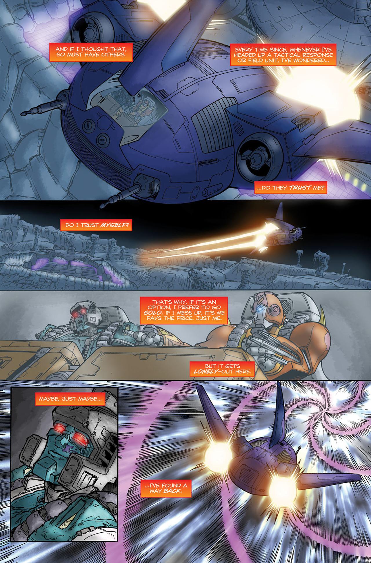 Read online Transformers Spotlight: Hot Rod comic -  Issue # Full - 22