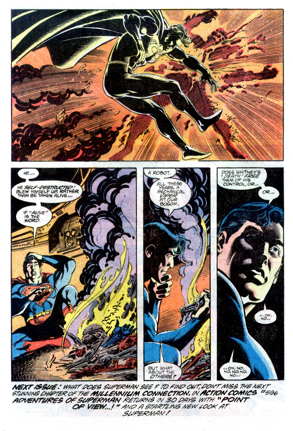 Read online Adventures of Superman (1987) comic -  Issue #436 - 23