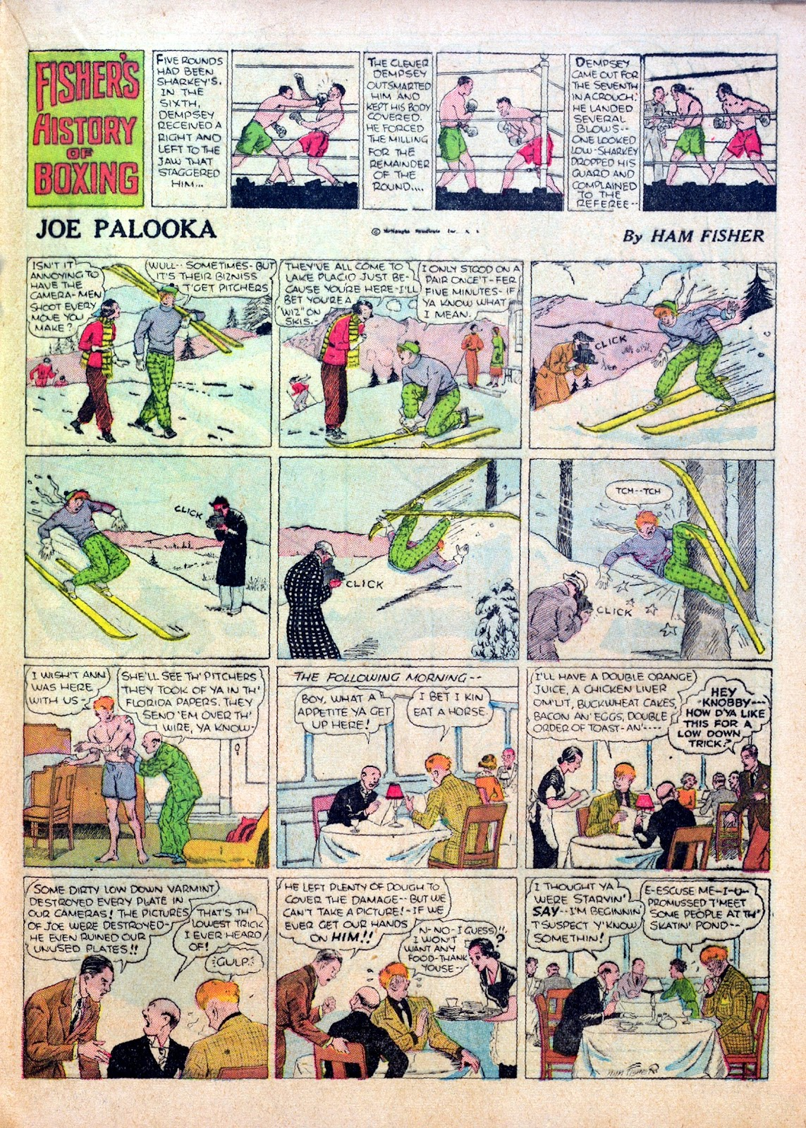 Read online Famous Funnies comic -  Issue #30 - 31