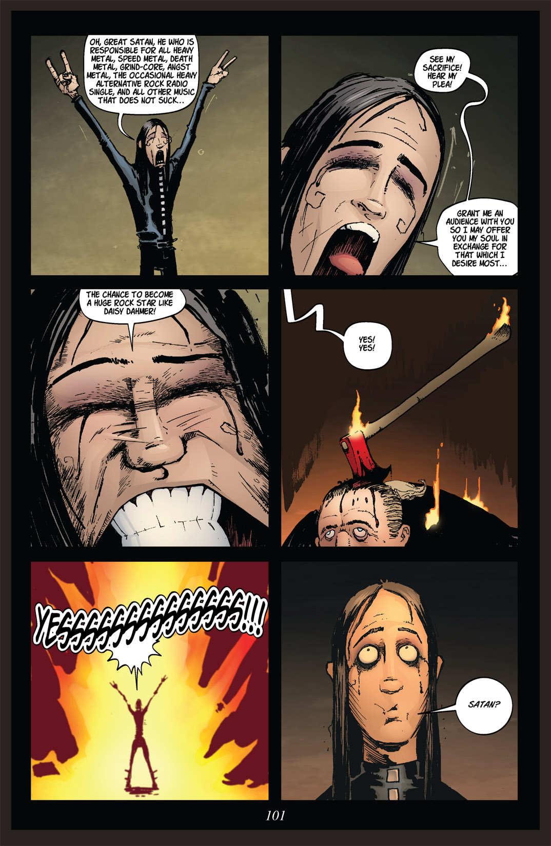 Read online Nightmare World comic -  Issue # Vol. 2 Leave the Light On - 102