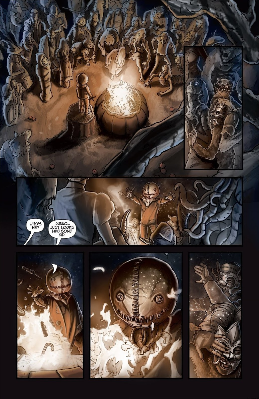 Read online Trick 'r Treat: Days of the Dead comic -  Issue # TPB - 117