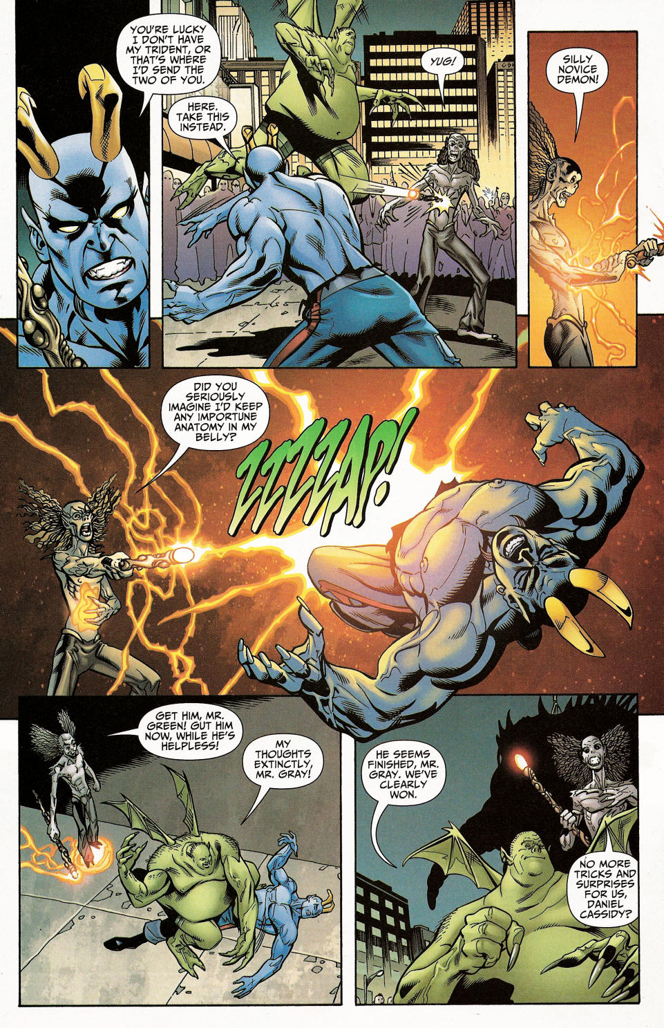 Read online Shadowpact comic -  Issue #4 - 29