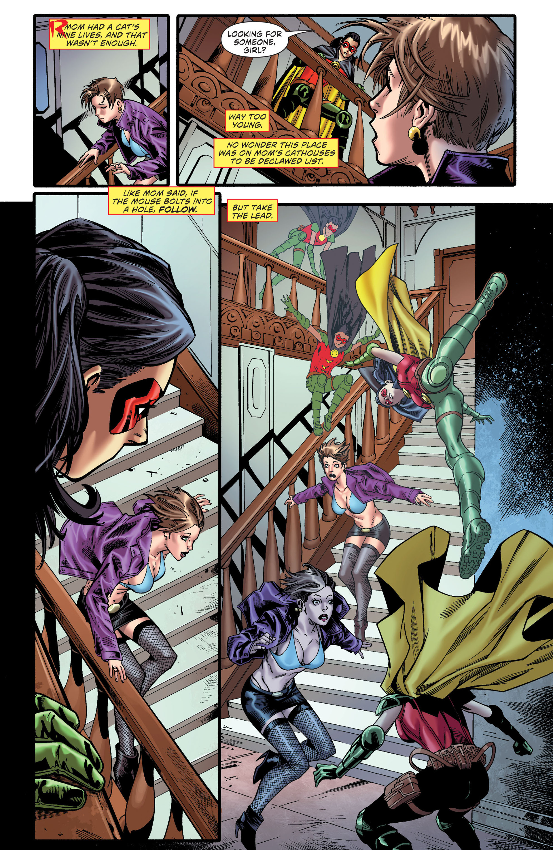Read online Worlds' Finest comic -  Issue # _Annual 1 - 6