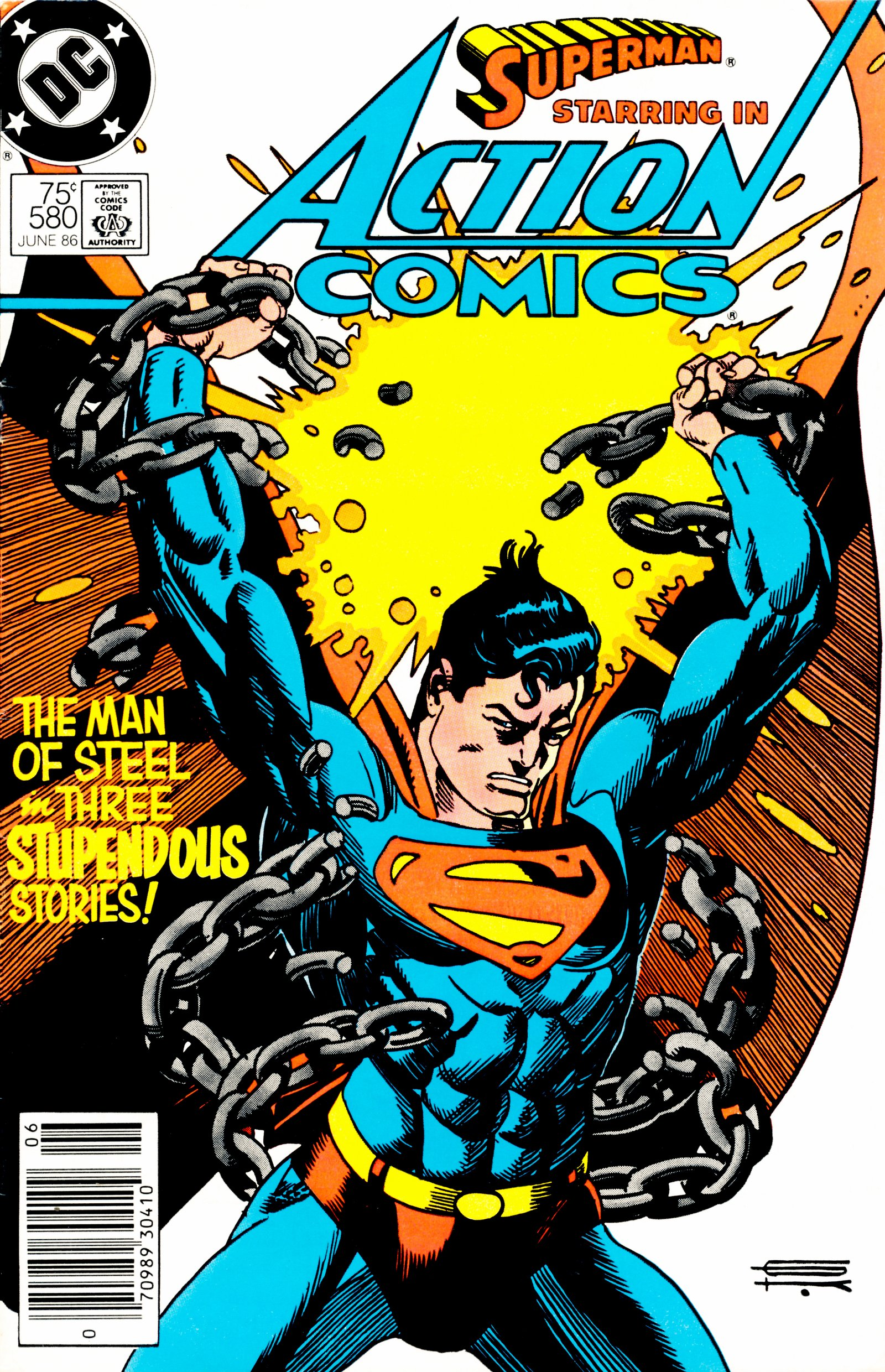 Read online Action Comics (1938) comic -  Issue #580 - 1