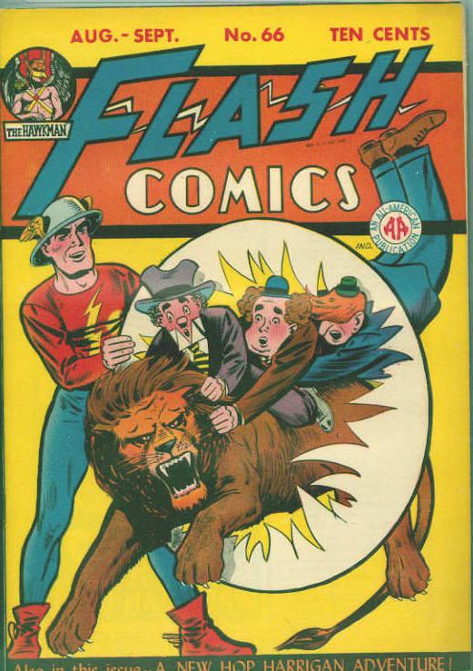 Flash Comics 66 Page 1