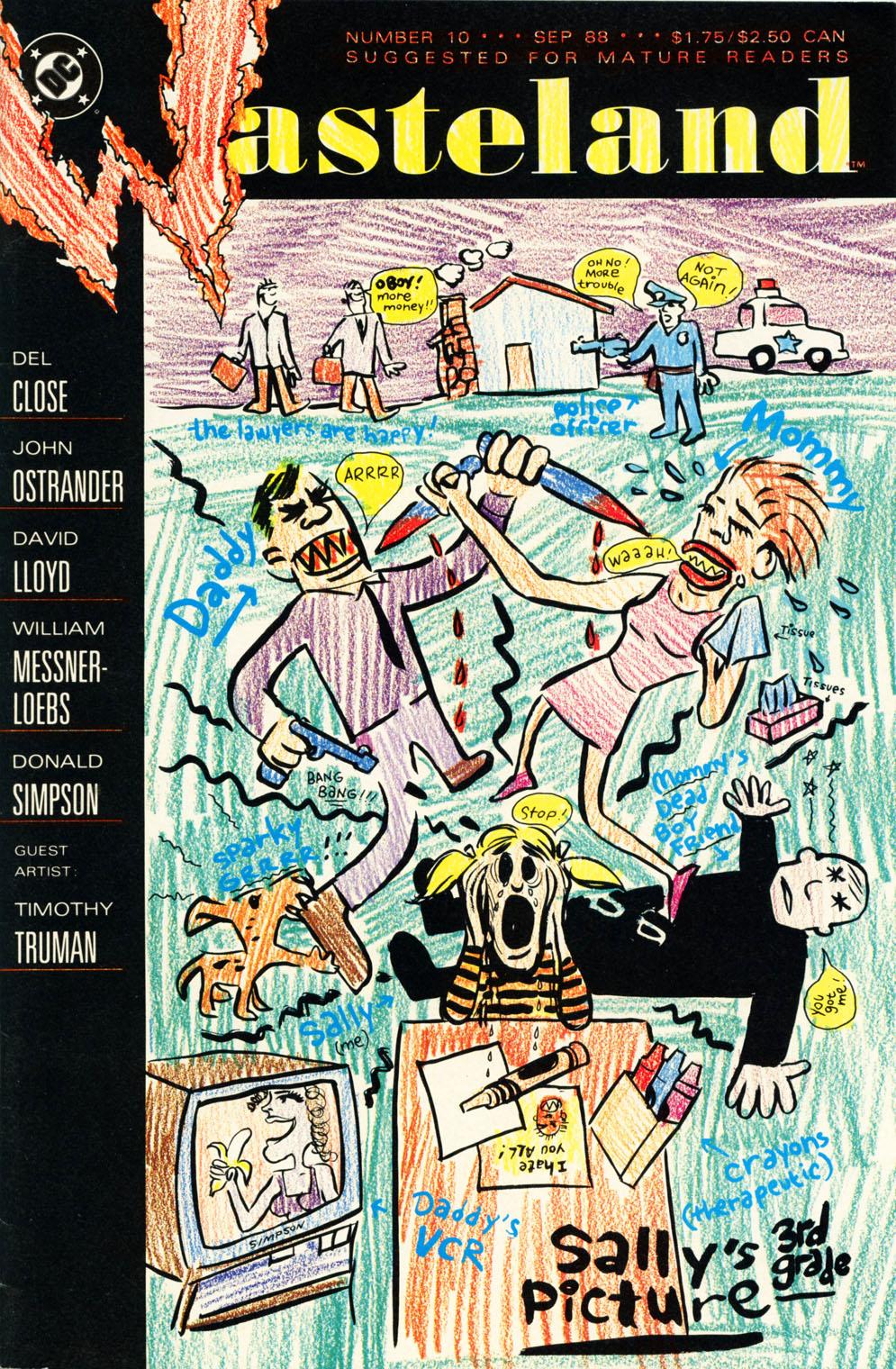 Wasteland (1987) 10 Page 1