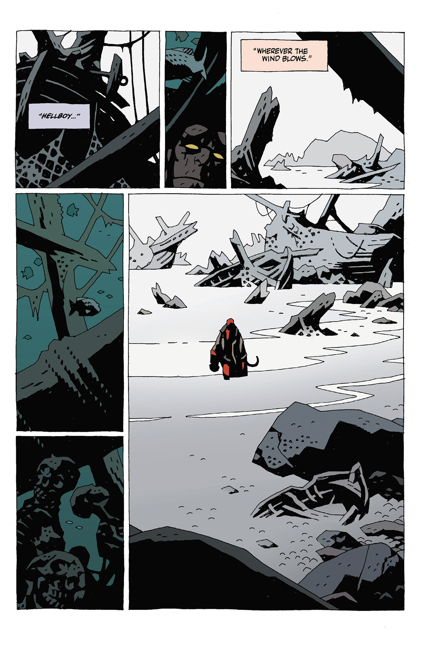 Read online Hellboy: Strange Places comic -  Issue # TPB - 69