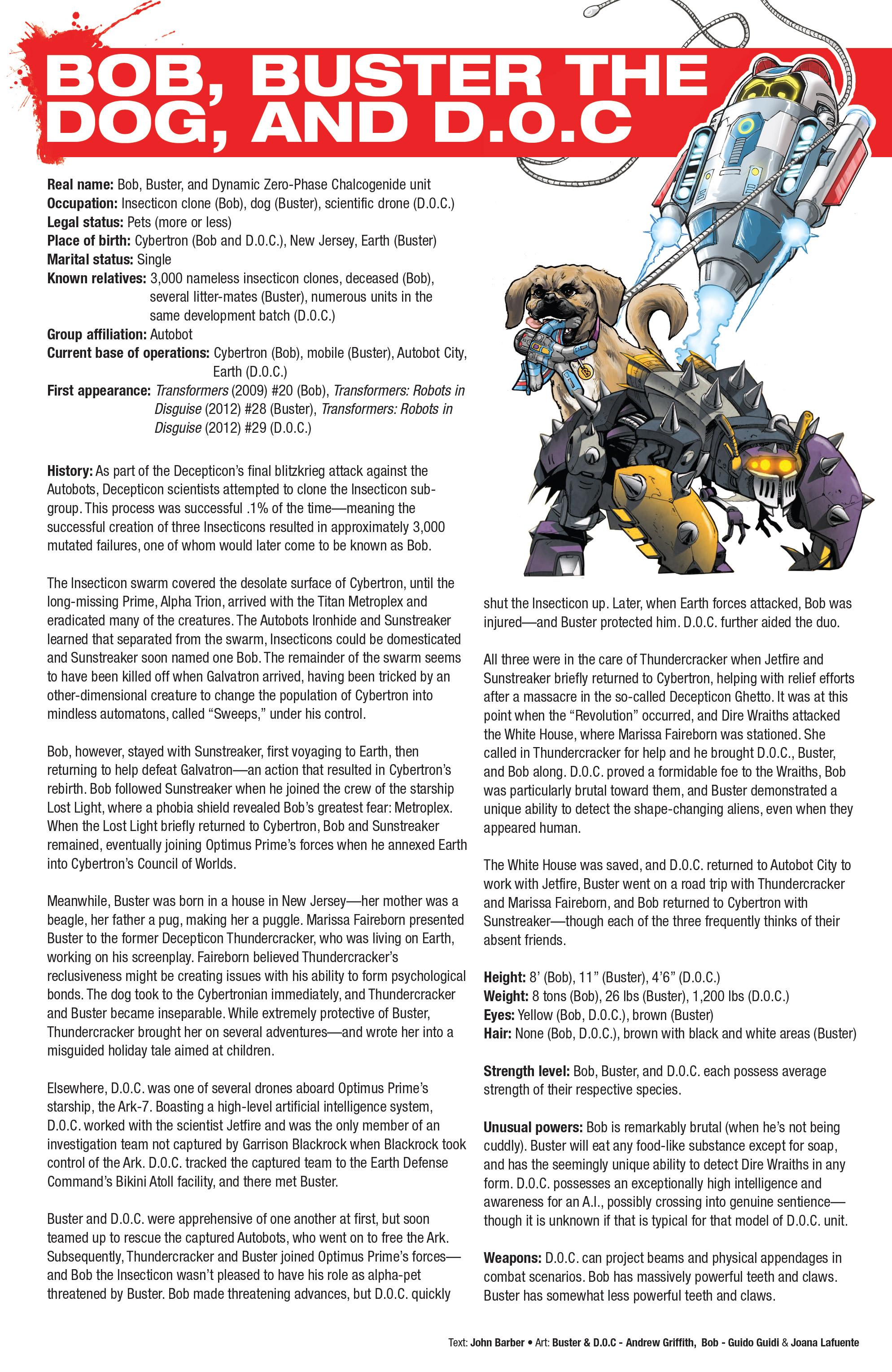 Read online Hasbro Heroes Sourcebook comic -  Issue #1 - 25