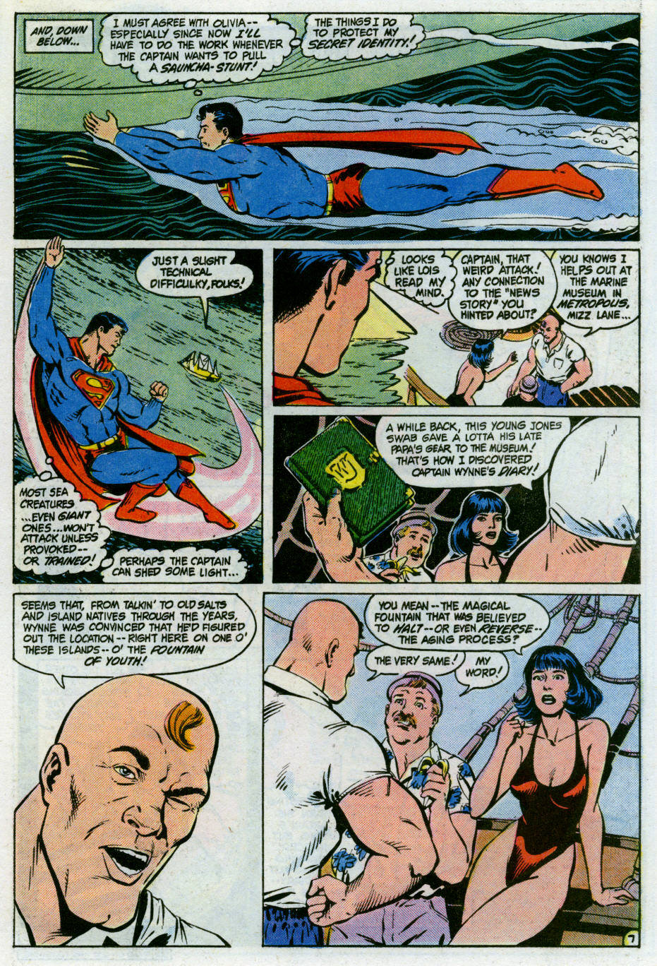 Read online Action Comics (1938) comic -  Issue #566 - 8