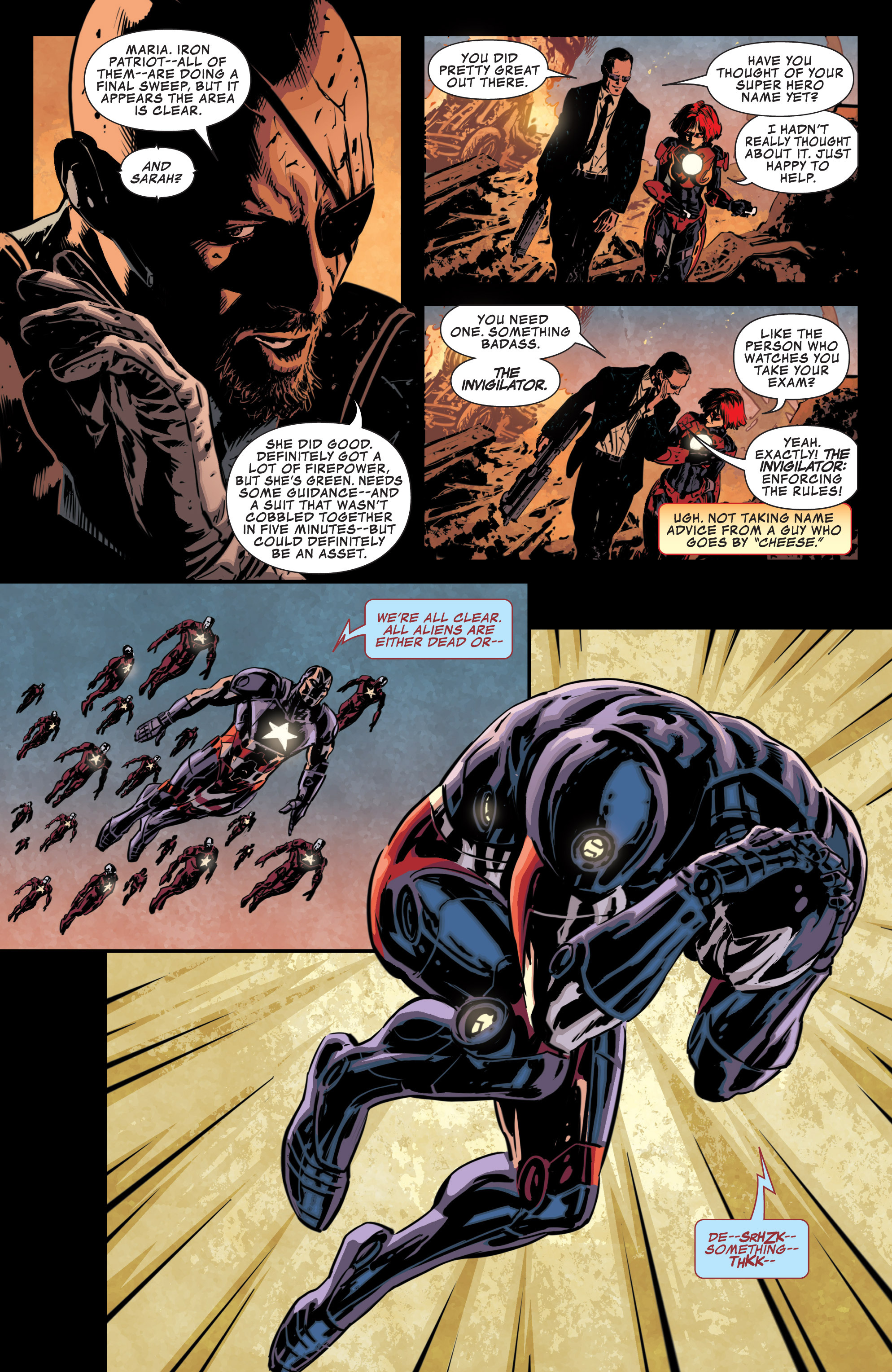 Read online Secret Avengers (2013) comic -  Issue #10 - 17