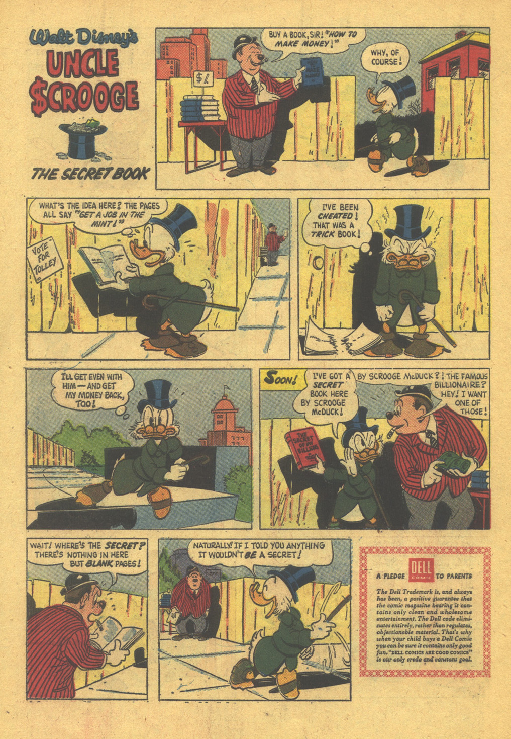 Read online Uncle Scrooge (1953) comic -  Issue #31 - 34