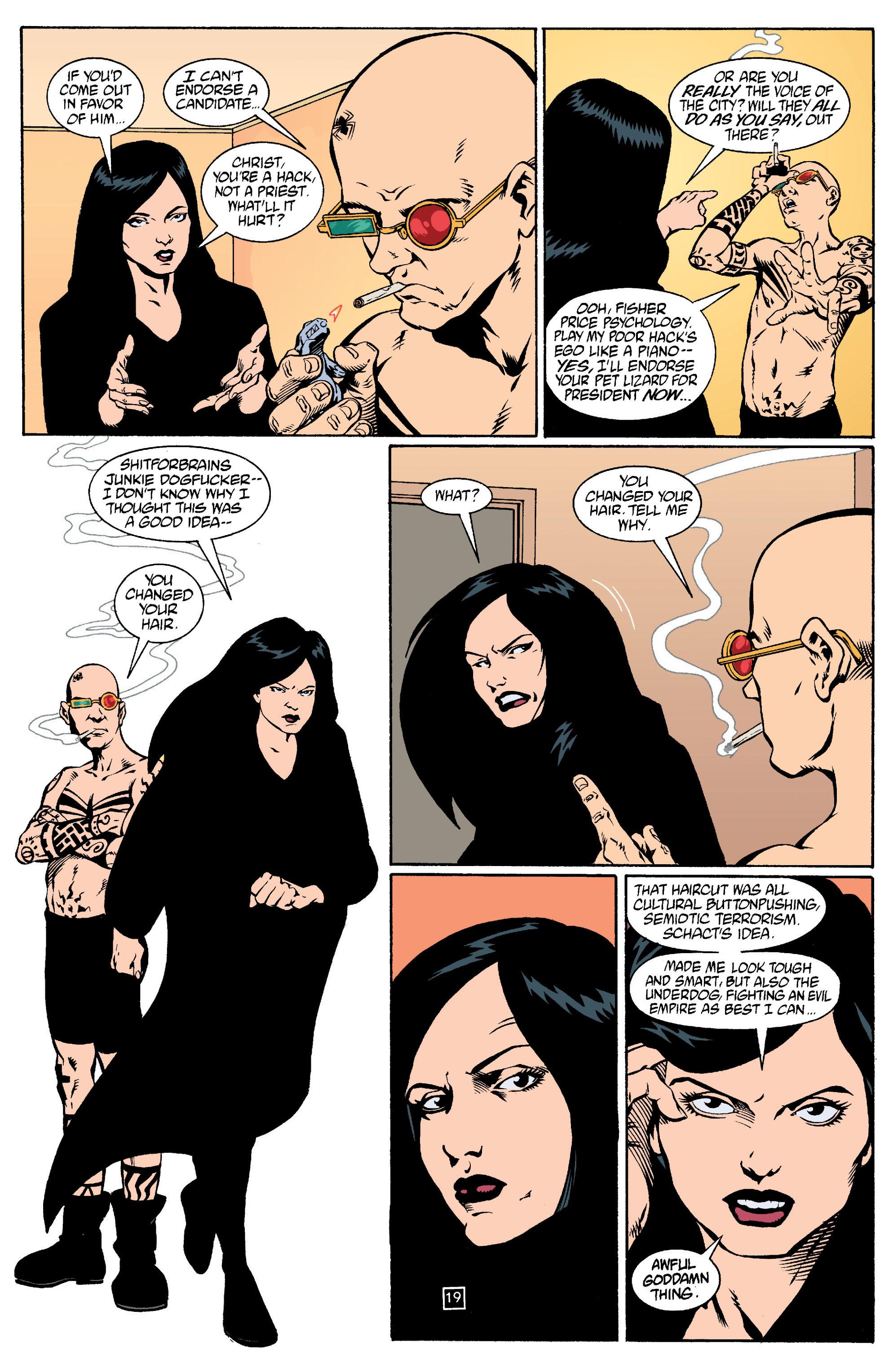 Read online Transmetropolitan comic -  Issue #15 - 20