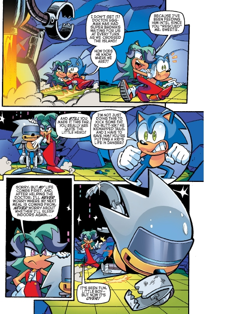 Read online Sonic Comics Spectacular: Speed of Sound comic -  Issue # Full - 18