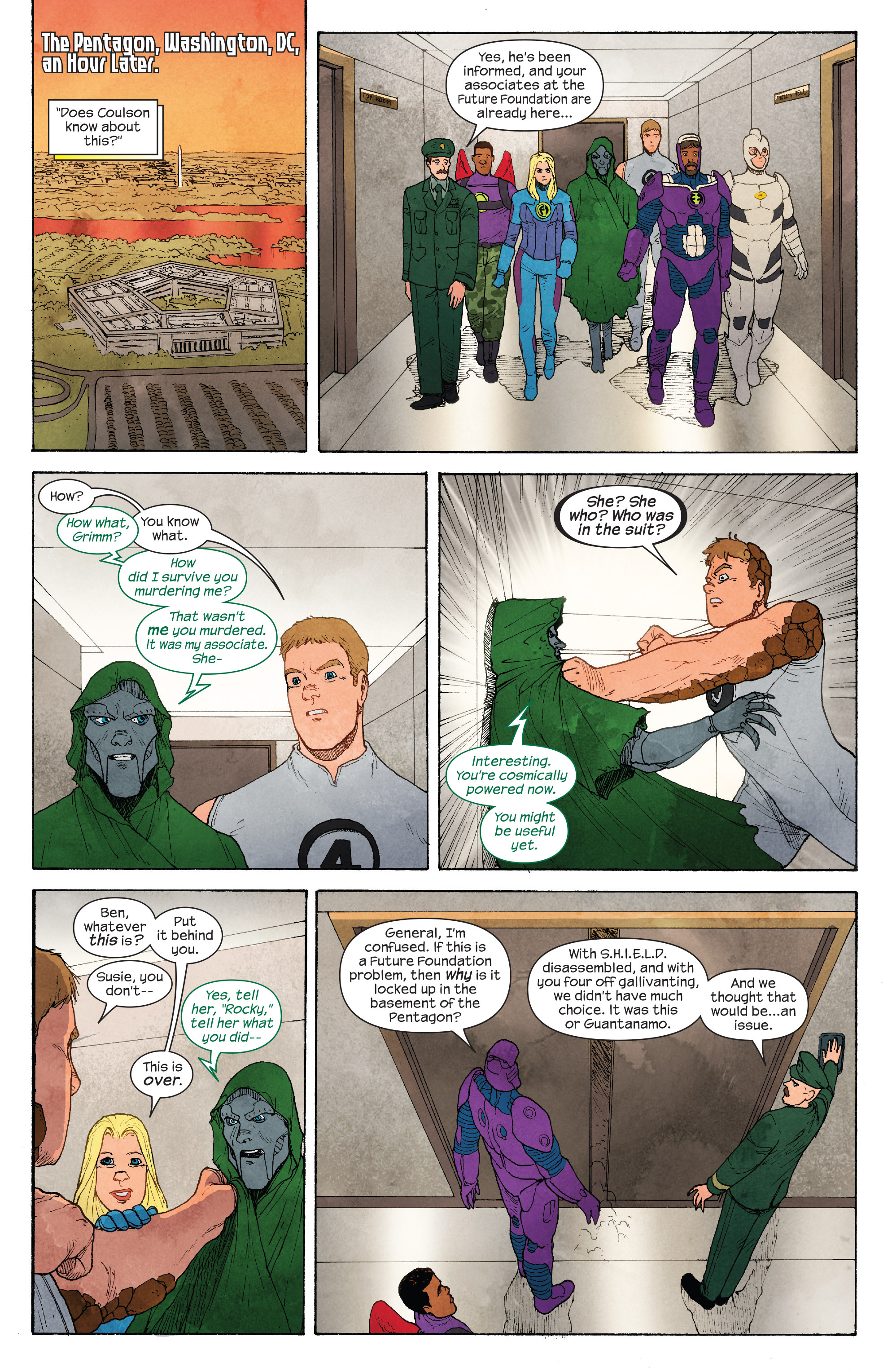 Read online Ultimate FF comic -  Issue #4 - 16
