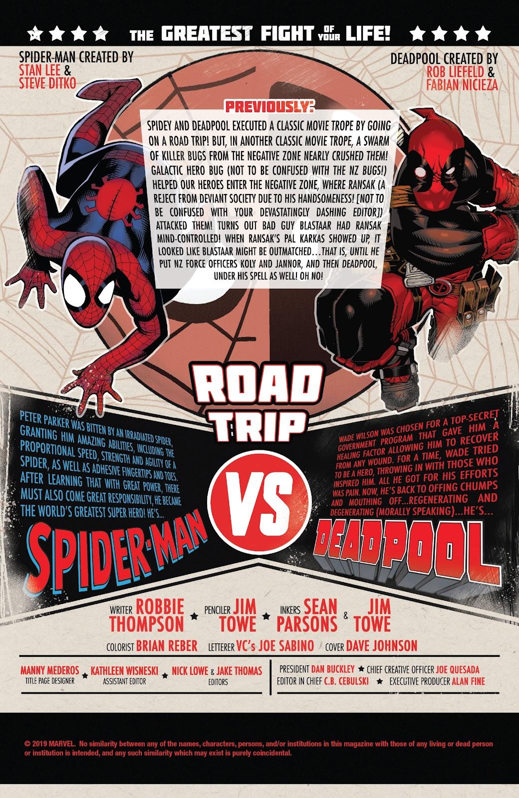 Read online Spider-Man/Deadpool comic -  Issue #45 - 2